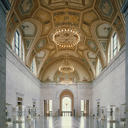 Main Hall of the Detroit Institute of Arts