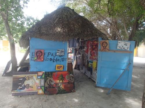 Casa del arte en Isla Saona
